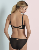 Sheer Seduction Plunge Bra in Black by Gossard