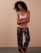PJ Bottoms in Navy Floral by Bravissimo