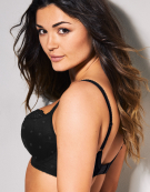 Marcie Balconette Bra in Black by Cleo