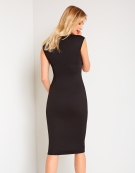 Celine Dress in Black by Bravissimo Clothing