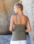 Lightly Padded Underwired Strappy Top in Olive by Bravissimo
