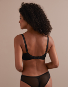 Asher Balconette Bra in Black by Cleo
