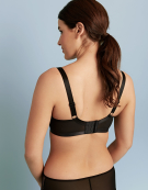 Jinx Plunge Bra in Black by Curvy Kate