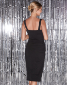 Strappy Leila Dress in Black by Bravissimo Clothing