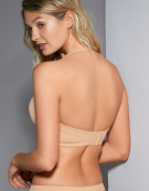 Deco Strapless Bra in Nude by Freya