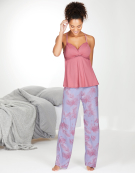 PJ Racerback Cami Top PJ Cami Top in Pink by Bravissimo