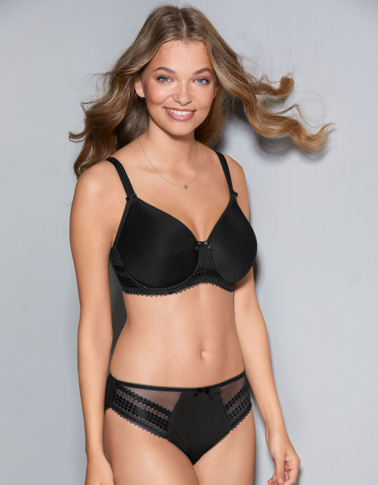 f846104cbccb6 Rebecca Full Cup Bra in Black by Fantasie