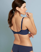 Petra Balconette Bra in Navy by Panache