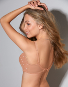 Marcie Balconette Bra in Nude by Cleo