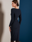 Melissa Dress in Navy by Bravissimo Clothing