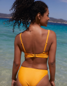 Barbados Bikini Top in Marigold by Bravissimo