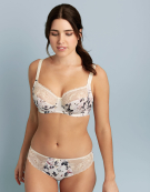 Charlotte Full Cup Bra in Ivory Floral by Fantasie