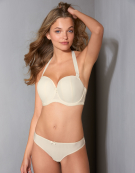 Luxe Strapless Bra in Ivory by Curvy Kate