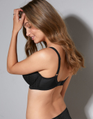 Envy Balconette Bra in Black by Panache
