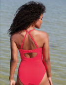 Tanzania Swimsuit in Neon Pink by Bravissimo