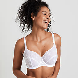 Bra wires should be flat against your chest