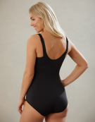 """Wear Your Own Bra"" Body Shapewear Body in Black by Maidenform"