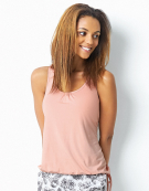 Blouson Racerback Top PJ Racerback Top in Blush Pink by Bravissimo
