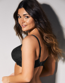 Tango Plunge Bra in Black by Panache
