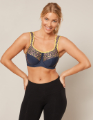Inspire Sports Wired Sports Bra in Animal Print by Bravissimo