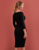 Lily Dress in Black by Bravissimo Clothing