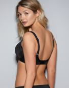 Smoothing Balconette Bra in Black by Fantasie