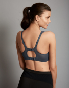 Active Multi Sports Non Wired Sports Bra in Grey Mix by Shock Absorber