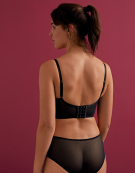 Encore Longline Bra in Black by Gossard