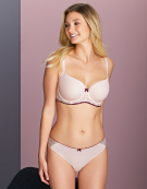 Morgan Half-Cup Bra in Blush Pink by Cleo