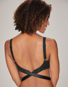 Low Back Converter Clips Straps in Black by Maidenform