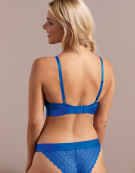 Lyzy Non Wired Bra in Cobalt by Cleo