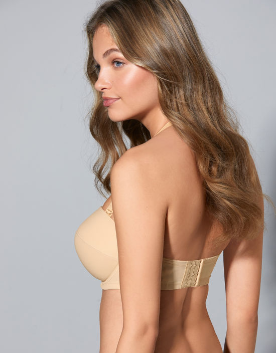 38784cc48a0 Evie Strapless Bra in Nude by Panache