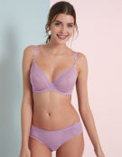 Lifestyle Plunge Bra in Lilac by Curvy Kate