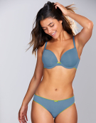 Koko Muse Plunge Bra in Denim Blue by Cleo