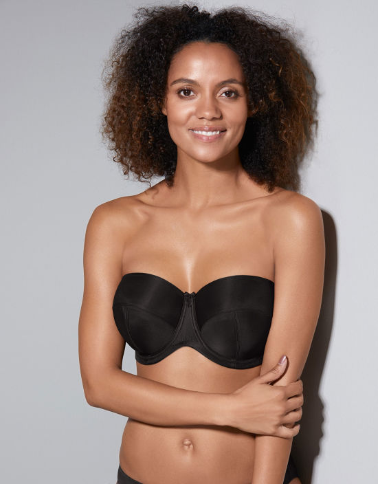 d9577cf7b1 Evie Strapless Bra in Black by Panache