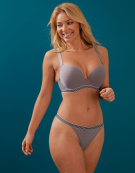 Deco Wild Bra in Grey by Freya