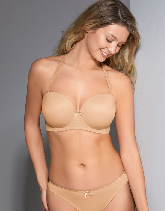 Deco Strapless Bra in Nude by Freya  0aa9960b3