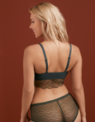 Fancies Non Wired Bralette in Khaki by Freya