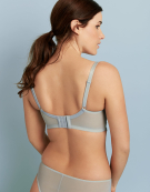 Piper Longline Balconette Bra in Powder Blue by Cleo