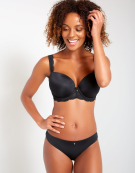 Ardour Balconette Bra in Black by Panache