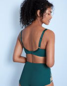 Clara Full Cup Bra in Emerald Green by Panache