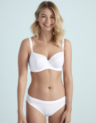 Selina Full Cup Bra in White by Bravissimo
