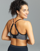 Wired Sports Bra in Grey Marl by Panache