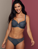 Robyn Full Cup Bra in Slate Blue by Bravissimo