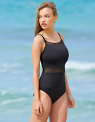 Seville Swimsuit in Black by Bravissimo