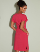 Kimono Dress in Rose Pink by Bravissimo Clothing