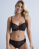 Millie Balconette Bra in Black by Bravissimo