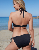 Sorrento Bikini Top in Black by Bravissimo