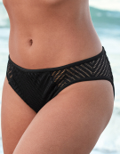 Urban Swim Brief Bikini Brief in Black by Freya