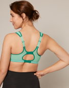Active Multi Sports Non Wired Sports Bra in Mint by Shock Absorber